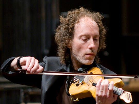 """Tracy Silverman will play the electric violin in an October CSO performance of John Adams' """"The Dharma at Big Sur."""""""