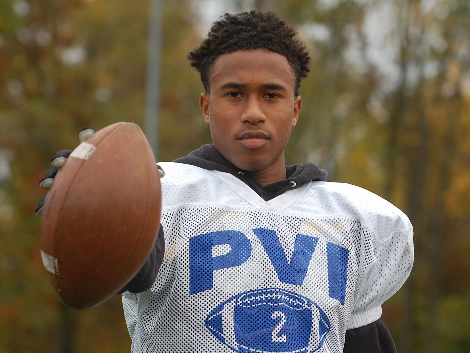 With a handful of college offers, Paul VI wide receiver Lonnie Moore has proved he can play.