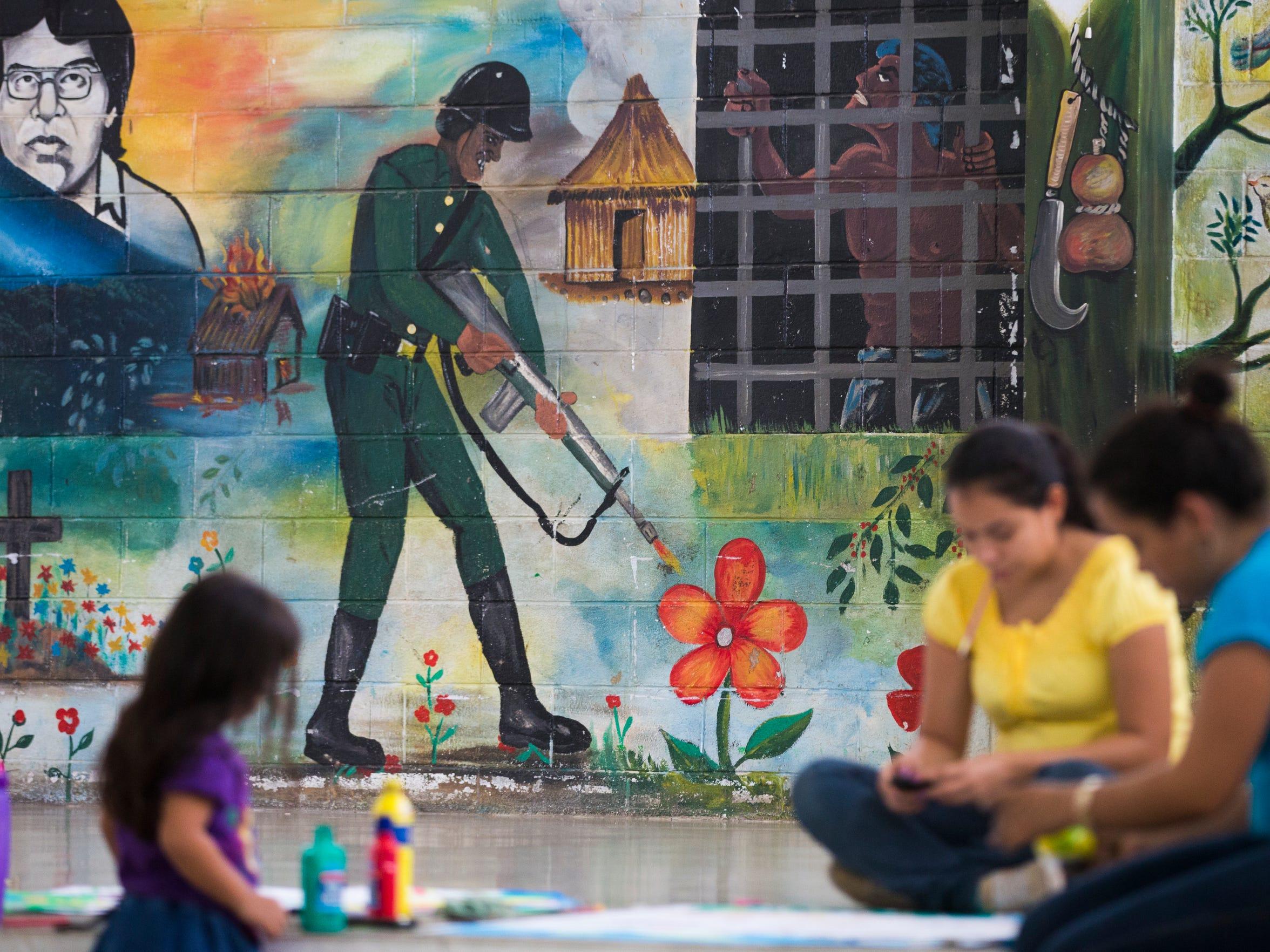 Violence in El Salvador is a constant presence, even