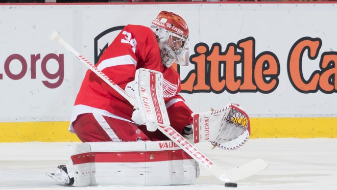 Mrazek is 8-6-3 with a 2.92 goals-against average and .905 save percentage