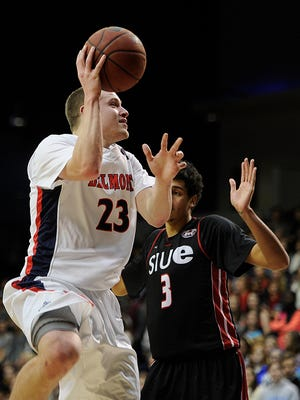 Belmont's Craig Bradshaw (23) was named OVC preseason player of the year on Tuesday.