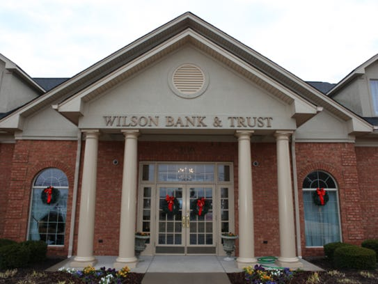 Wilson Bank and Trust operates four full-service branches