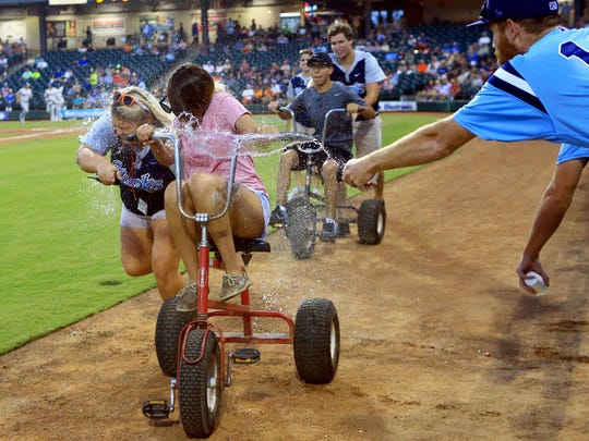 The Hooks will again offer a number of activities, including the popular trike races, between innings for fans at Whataburger Field.