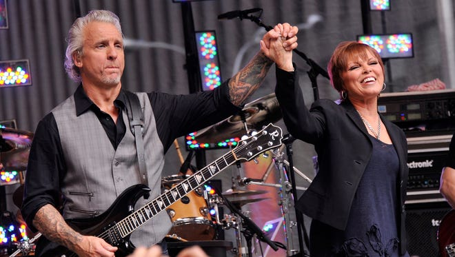 Musician Neil Giraldo and singer Pat Benetar will perform at The Grand in Wilmington this weekend.