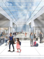 A more modern terminal with more space is proposed