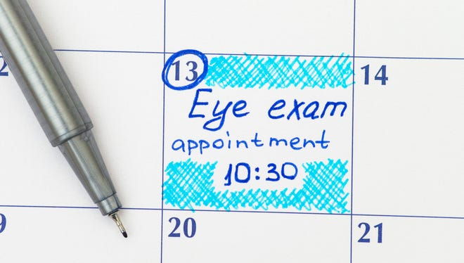 Regular eye exams are important as other annual exams.
