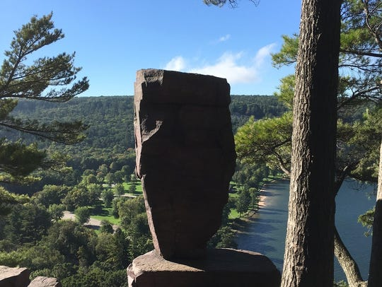 Balanced Rock is one of the many natural wonders at