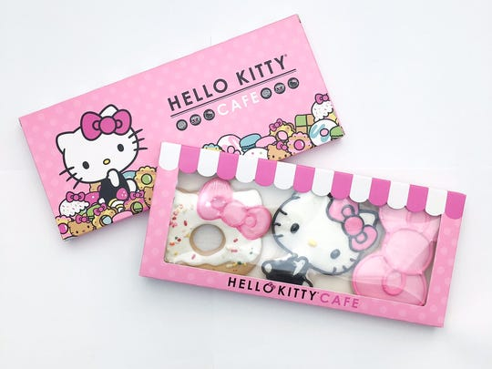 Hello Kitty Food Truck goodies