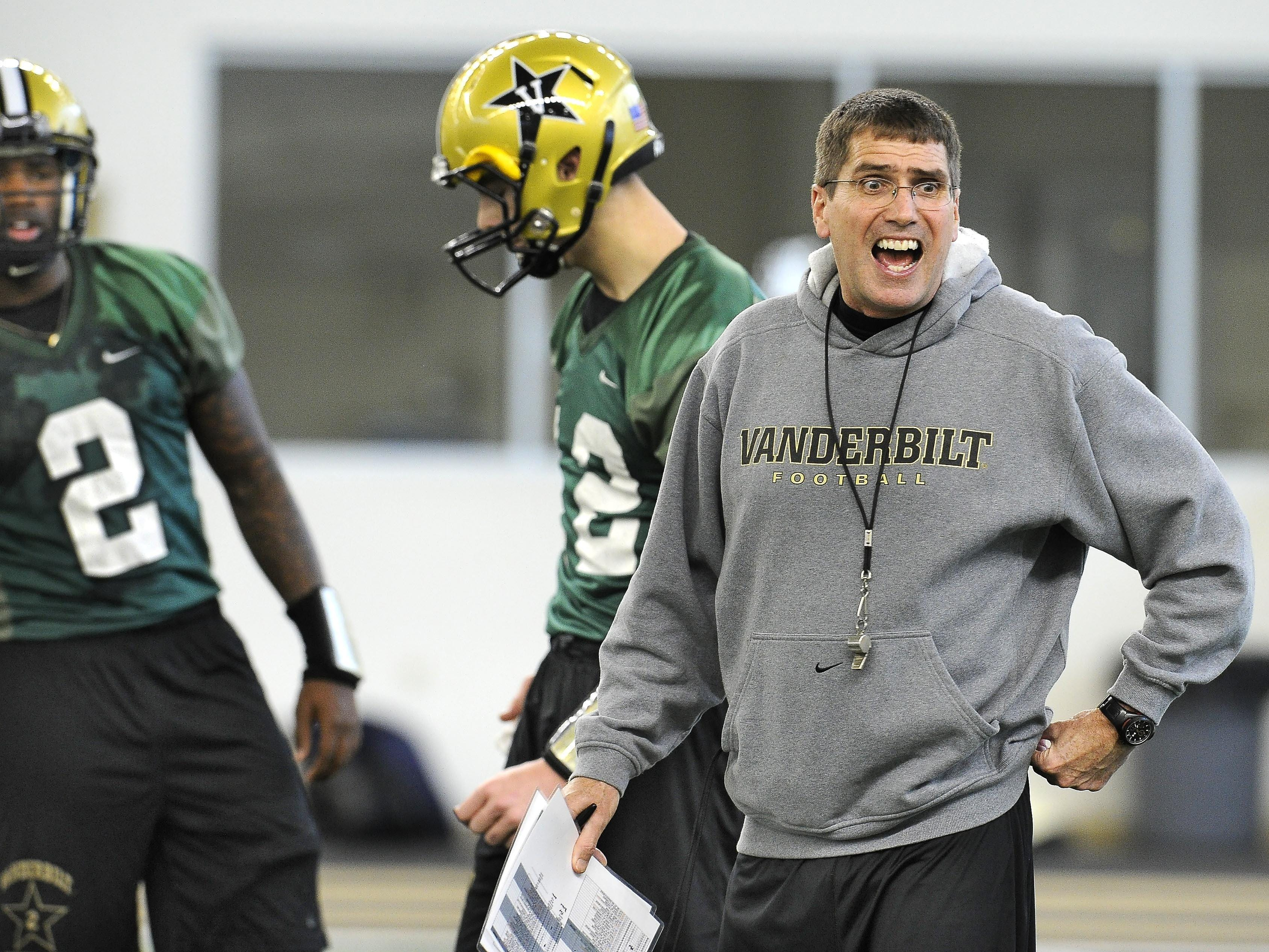 New Vanderbilt offensive coordinator Andy Ludwig will debut for the Commodores against Western Kentucky Thursday night.