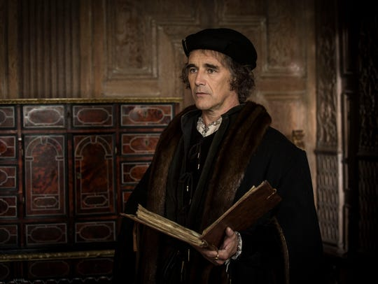 Mark Rylance as Thomas Cromwell in 'Wolf Hall' on 'Masterpiece'