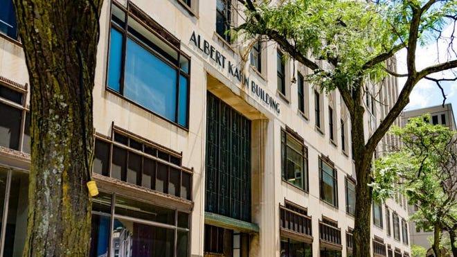 The Albert Kahn Building at 430 Second Ave., Detroit.