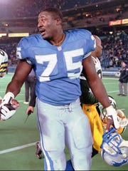 OT Lomas Brown played 11 of his 18 NFL seasons for the Lions and was the team's starting left tackle in 1991, when he was a second-team All-Pro selection.