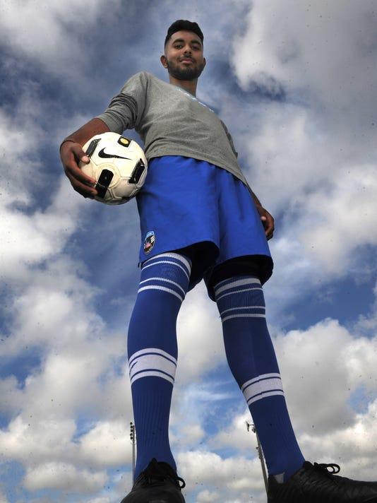All-County boys soccer Player of the Year Diego Caballero 1