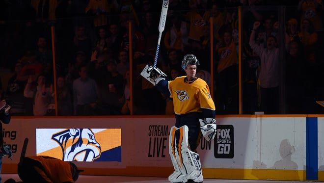 Pekka Rinne is the fifth-fastest NHL goaltender to win 300 games.