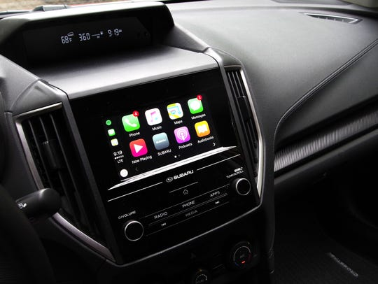 Apple CarPlay and Android Auto both come standard on the 2018 Subaru Crosstrek.