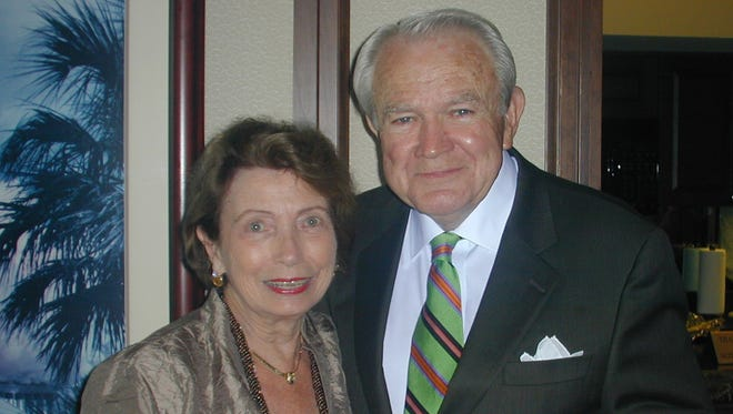 In this May 16, 2007, file photo, Betty Ruth Spear, left, and John Trotman Sr. attend the Celebration of the Arts reception at the Capital City Club. Trotman, an influential leader in Alabama's cattle industry, died Saturday at his home after a brief illness.