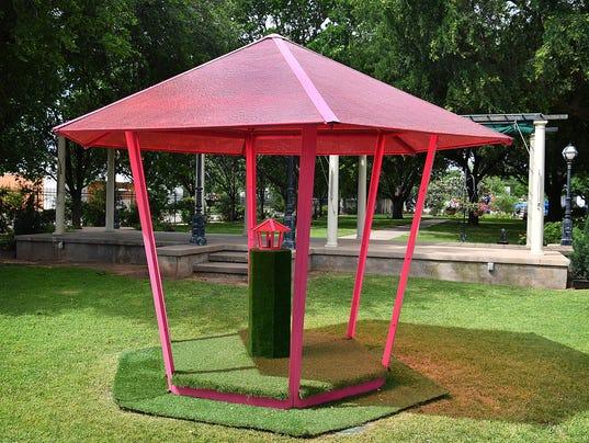 Sculpture Garden Installation 3