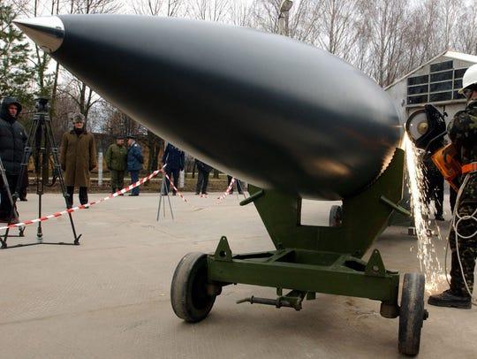 Ukraine missiles
