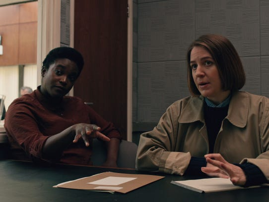 Wunmi Mosaku as Teri and Gemma Whelan as Eunice in