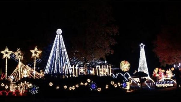 2499 El Verano regularly is among the top homes in the Shasta Association of Realtors Christms lights contest.