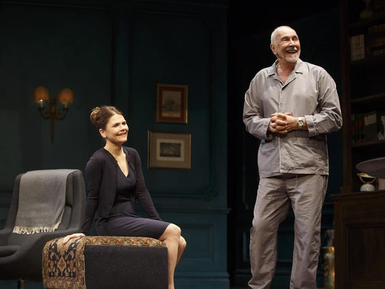 """Kathryn Erbe and Frank Langella in """"The Father."""""""