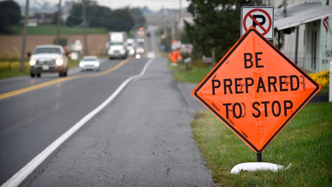 A construction permit allows crews to impact traffic on Route 322 between 9 a.m. and 3 p.m. U.S. Route 322 has been subject to temporary lane closures and flaggers east of Louser Road over the past few days as pipeline construction traffic moves in and out.