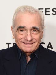 Director and producer Martin Scorsese attended a screening