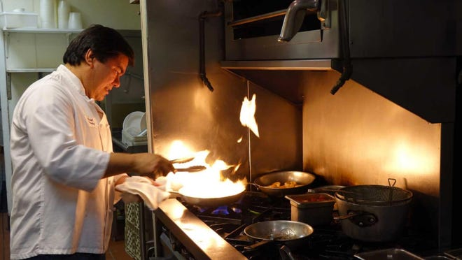 Fredy Umanzor of Chef Fredy's Table in Morristown.
