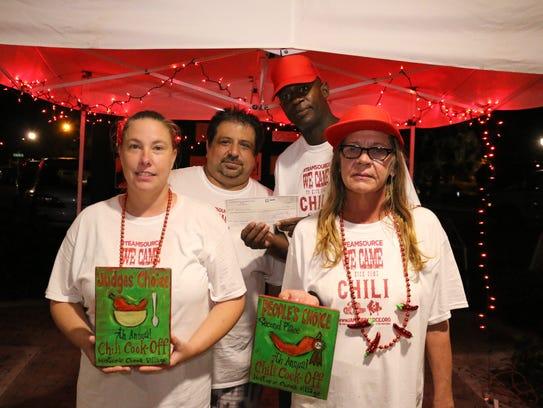 Team Source members Chef Joe Wiser, Lee Dawson and