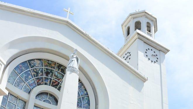 Dulce Nombre de Maria Cathedral Basilica in Hagåtña.