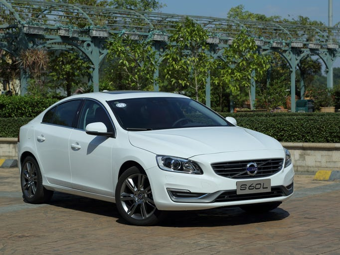 The Volvo S60L, the China-market long-wheelbase version of the S60 sedan, which adds about 3 inches to the wheelbase for a bigger back seat. The China-made car may come to the U.S.