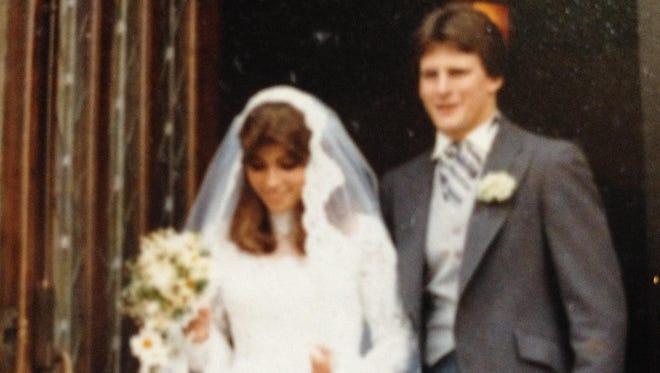 Wedding day June 14, 1980.