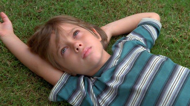 "Ellar Coltrane at age six is shown in a scene from the film,""Boyhood."""