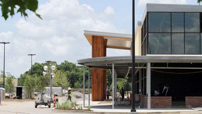 Construction on the soon-to-open Whole Foods continues Thursday, June 19, 2014, on the corner of Ambassador Caffery Parkway and Settler's Trace Boulevard in Lafayette, La.