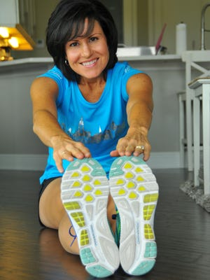 Julie Hannah of Melbourne began running in 2007 to lose weight after having twins. In 2014, she was diagnosed with breast cancer. She won the Space Coast Half Marathon last fall and has run in the Boston Marathon, New York marathon and more.