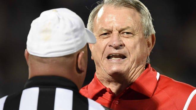 Jackson Prep head coach Ricky Black.