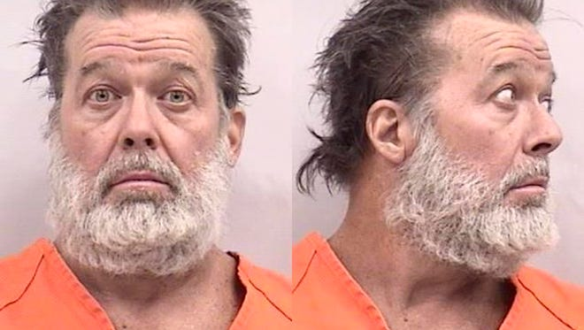 Robert Lewis Dear is charged in the November shooting deaths of three people at a Planned Parenthood clinic in Colorado Springs.