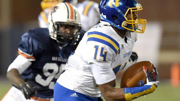 Oxford wide receiver D.K. Metcalf was named to MaxPreps All-American football team.