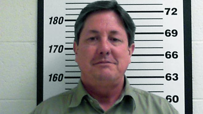 This Feb. 23, 2016 booking file photo released by the Davis County, Utah Jail shows Lyle Jeffs.
