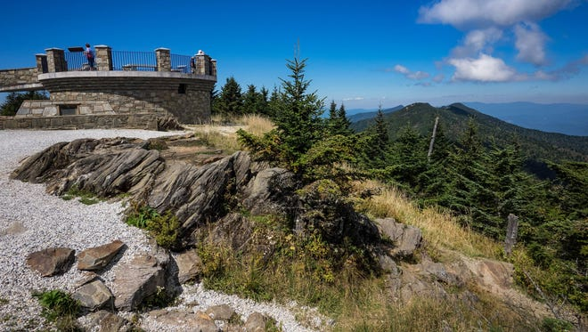 Parking will be tight at the Mount Mitchell State Park centennial this weekend, so it's best to take the shuttle from Black Mountain or Asheville.