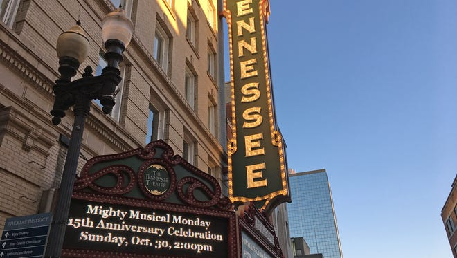 The Tennessee Theatre is the unparalleled star of the Knoxville Theater District. A 15th anniversary celebration of Mighty Musical Monday will be on Sunday, Oct. 30.