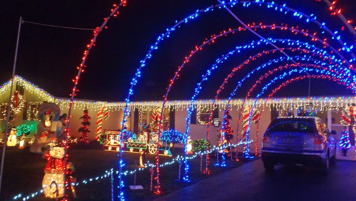 Where to see Christmas lights in York County in 2017