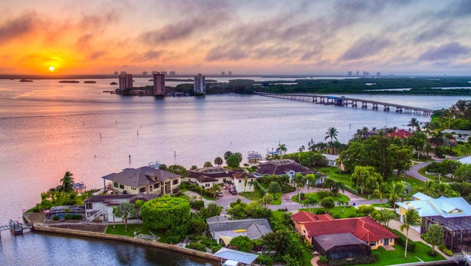 Grandview at Bay Beach offers unparalleled views of the Gulf of Mexico and Estero Bay.