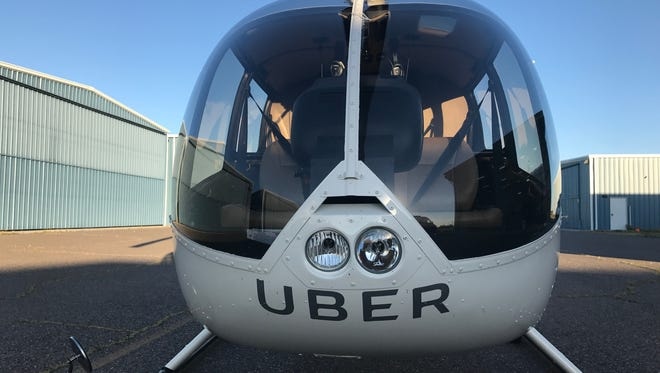 For a limited time, UberChopper offered 15-minute rides across the Valley.