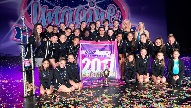Prestige Dance Academy's Elite Company Dancers finished their third season this weekend by taking a national champion Victory Cup at the Imagine Dance Challenge national-level competition in Hershey, PA.