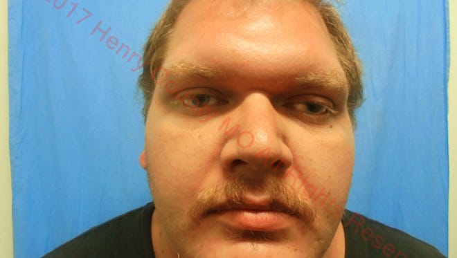 This undated photo provided by the Henry County, Mo., Sheriff's Department shows Jacob Johnson. Johnson was arrested Tuesday, Aug. 15, 2017, and has been charged with hindering prosecution in the Aug. 6, 2017 killing of a Clinton Police Officer Gary Michael Jr. (Henry County Sheriff's Department via AP)
