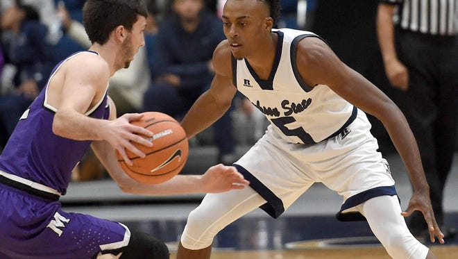 JSU guard Paris Collins missed a big chunk of last season with a broken hand. This year, it's a sprained ankle.