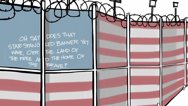 The land of the free and the home of The Wall.