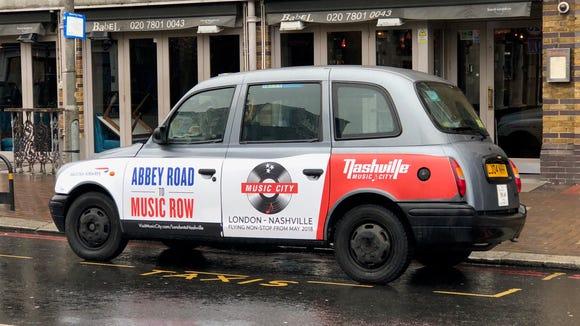 Marketing has begun for new London-Nashville direct