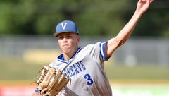 Vancleave's Bailee Hendon tosses gem in game 1 of 4A series